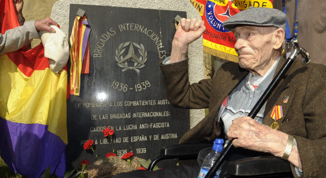 A Veteran of the Spanish Civil War